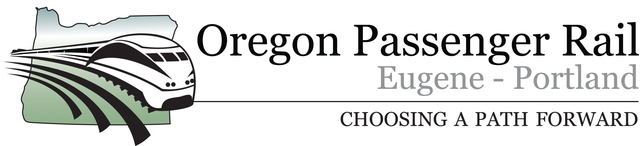 Oregon Passenger Rail Logo
