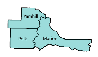 Yamhill, Polk and Marion Counties