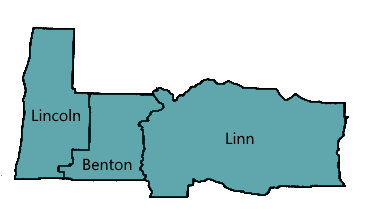 Lincoln, Benton and Linn Counties
