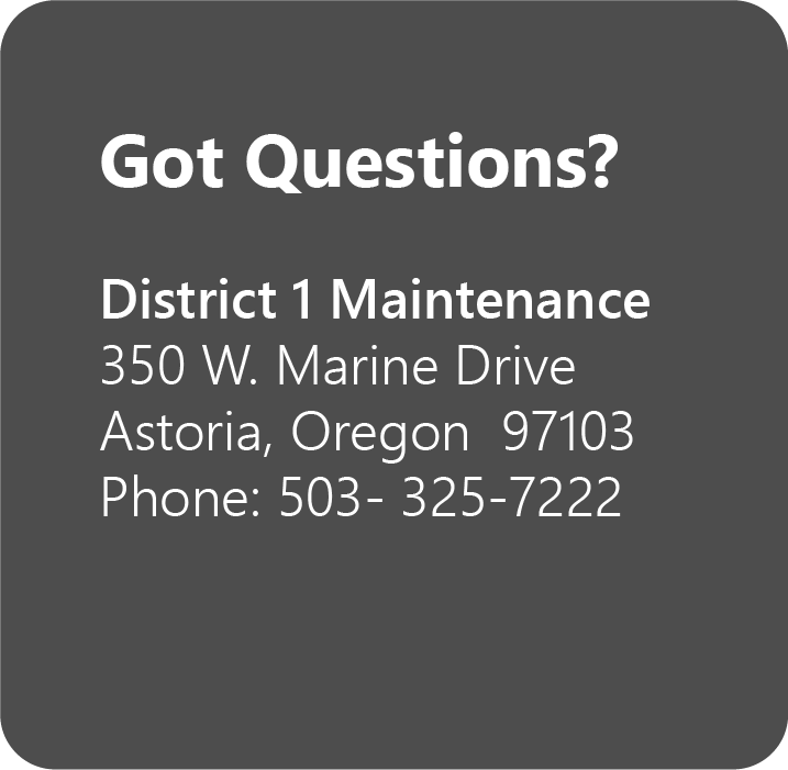 District Contact Information: 503-325-7222
